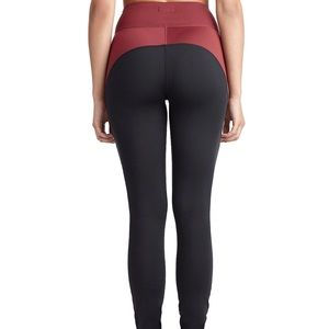 True Religion Womens Color Block Leggings Small